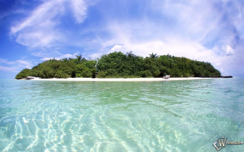 Обои остров остров relax 1440x900