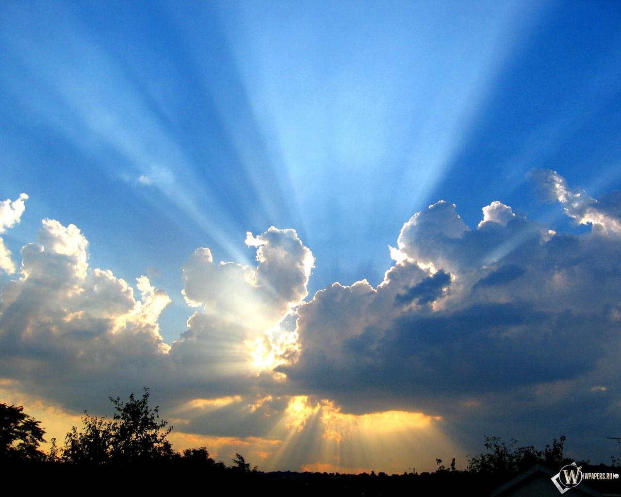 Чистое небо 1280x1024