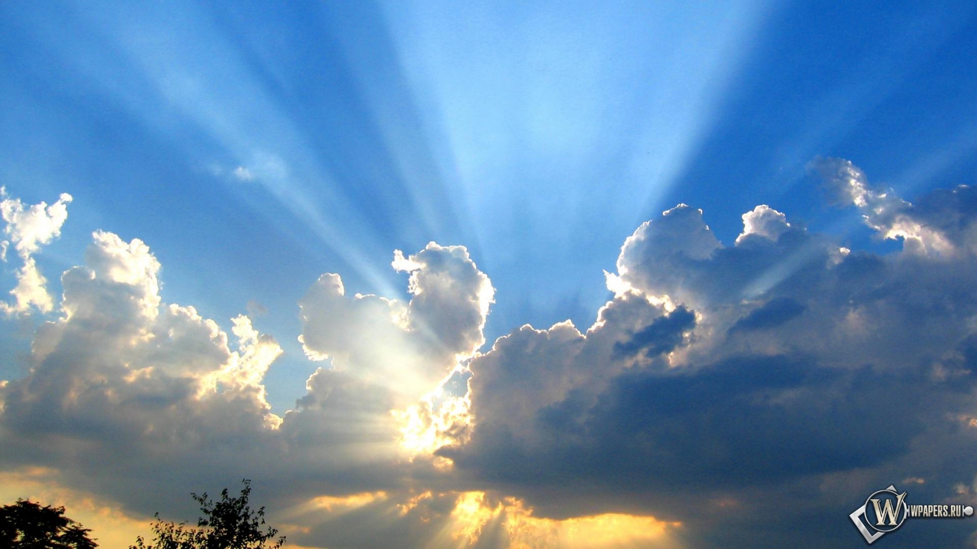 Голубое небо картинки скачать