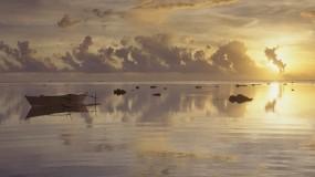 Обои Лодка на море: Вода, Природа, Море, Лодка, Природа