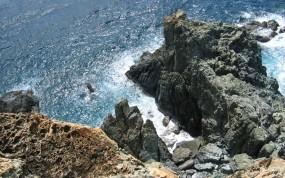 Обои Обрыв: Море, Скалы, Обрыв, Прочие пейзажи