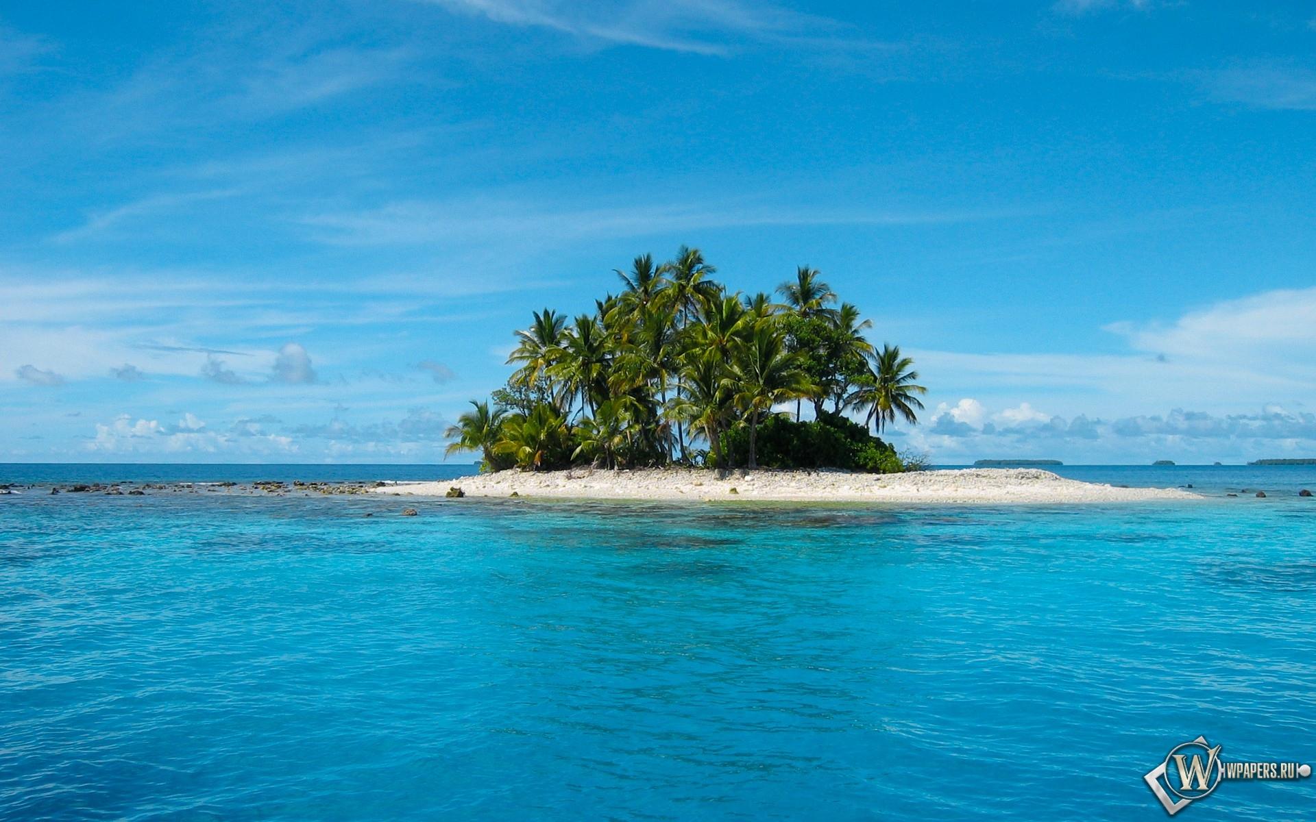 Райский островок 1920x1200