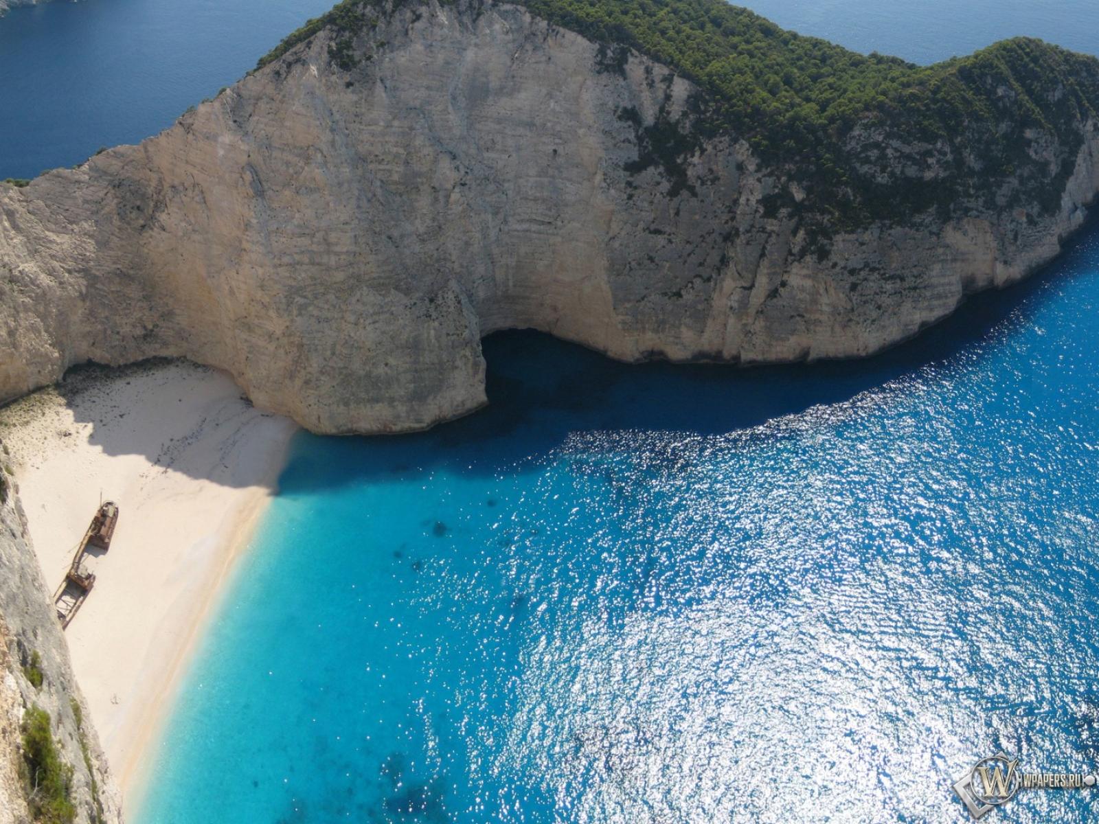 Обои край острова море океан остров