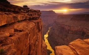 Обои Каньон: Солнце, Каньон, United States, Прочие пейзажи