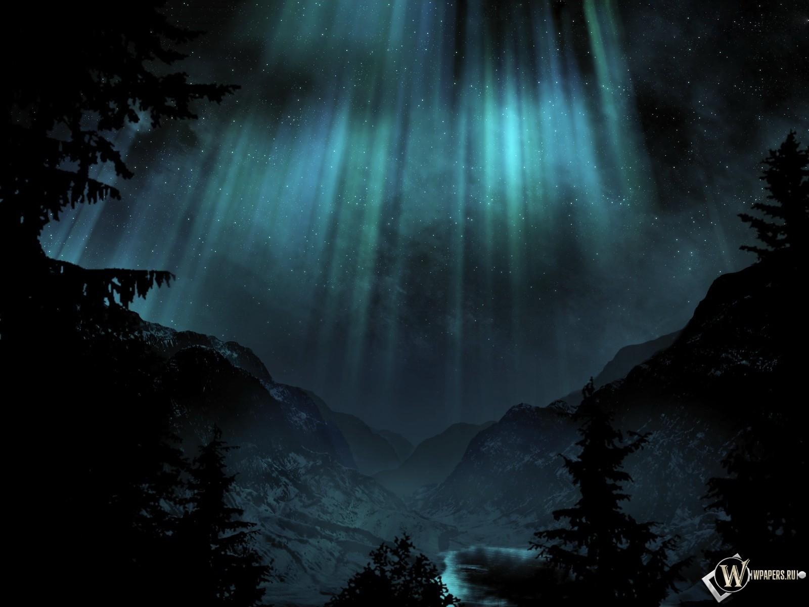 Ночное сияние 1600x1200