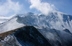 Обои Заснеженые холмы: Горы, Снег, Заснеженные холмы, Горы