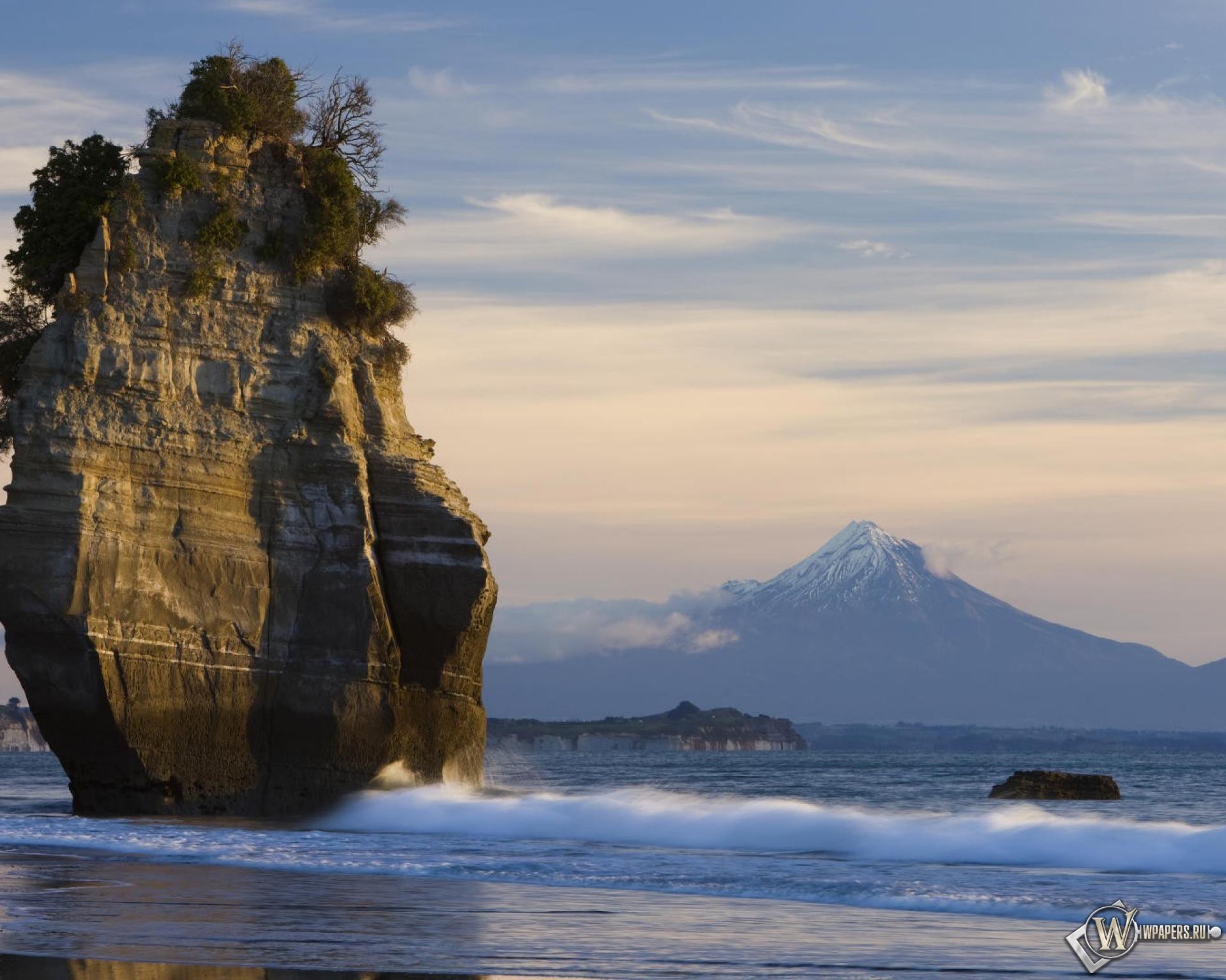 природа море горы скалы дома nature sea mountains rock home  № 425140 бесплатно