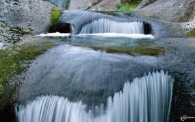 Обои Горный проток: , Водопады
