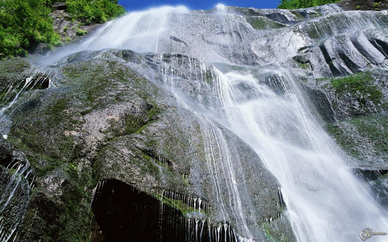 Картинки Водопады на рабочий стол скачать обои Водопады
