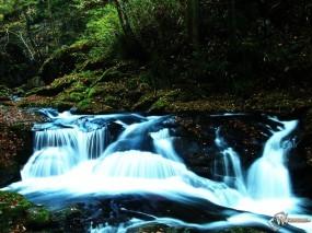 Обои Горный ручеек: , Водопады