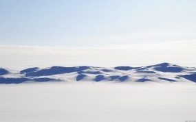 Обои Снежная пустыня: Зима, Пустыня, Небо, Зима