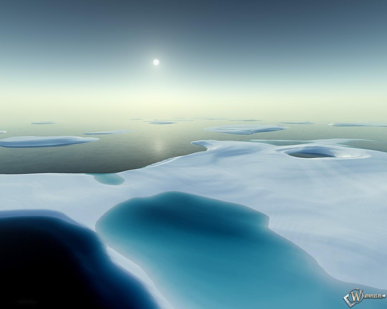 Полюс холода 1280x1024
