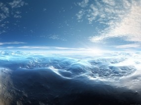 Обои ледяная пустыня: Лёд, Снег, Небо, Голубой, Зима
