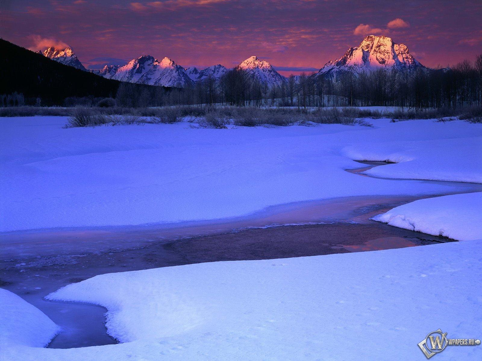 Winter Sunrise 1600x1200
