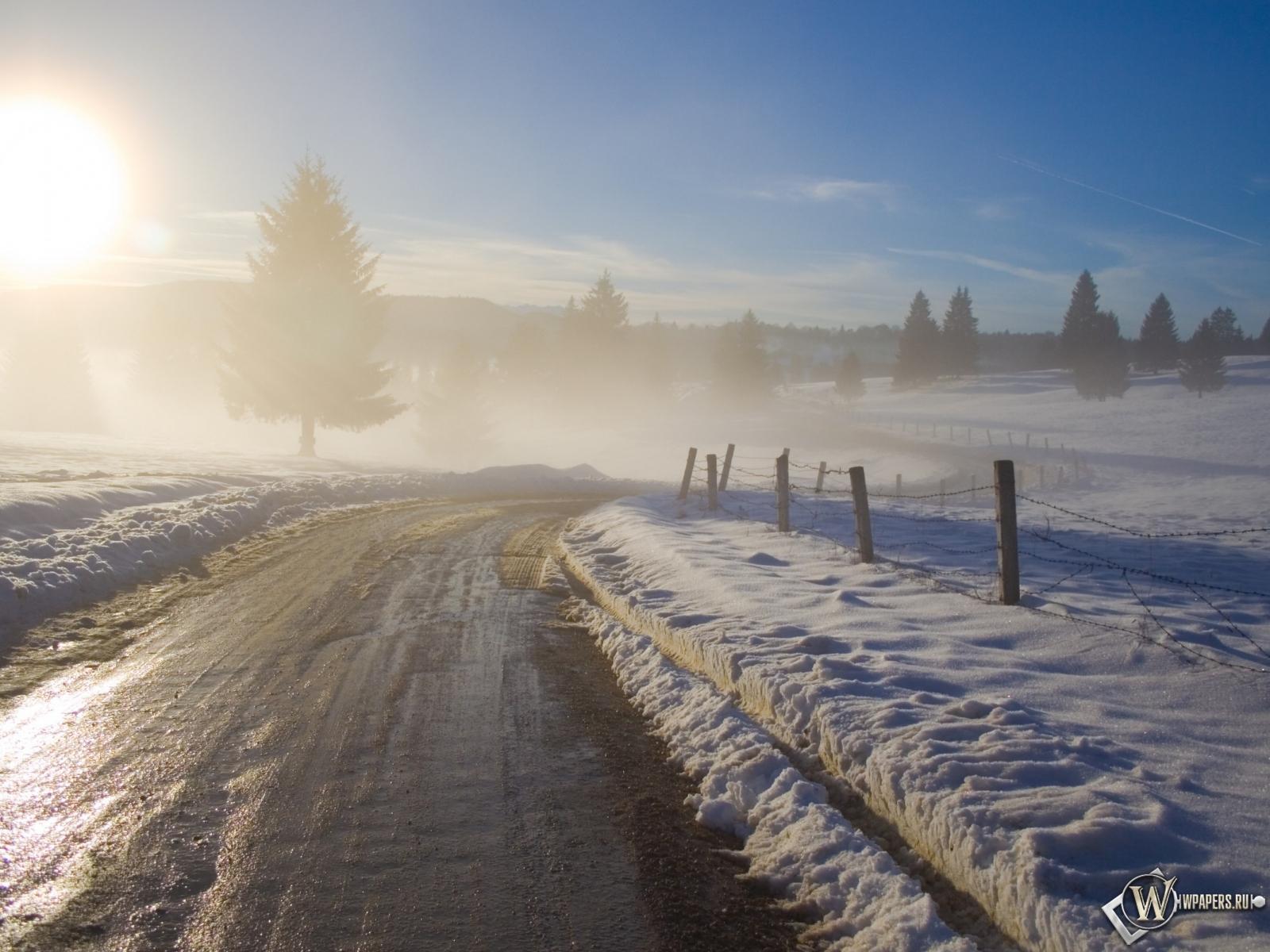 Картинки для рабочего зима солнце