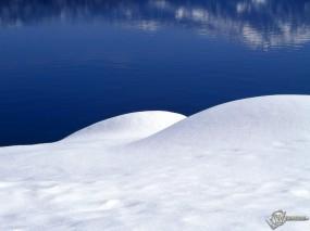 Обои Зимняя заводь: , Зима