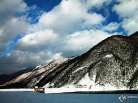 Обои Горные снега: , Зима