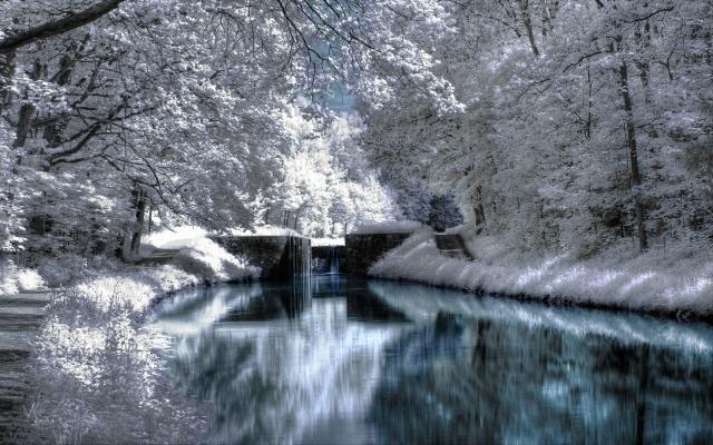 Зимняя речка