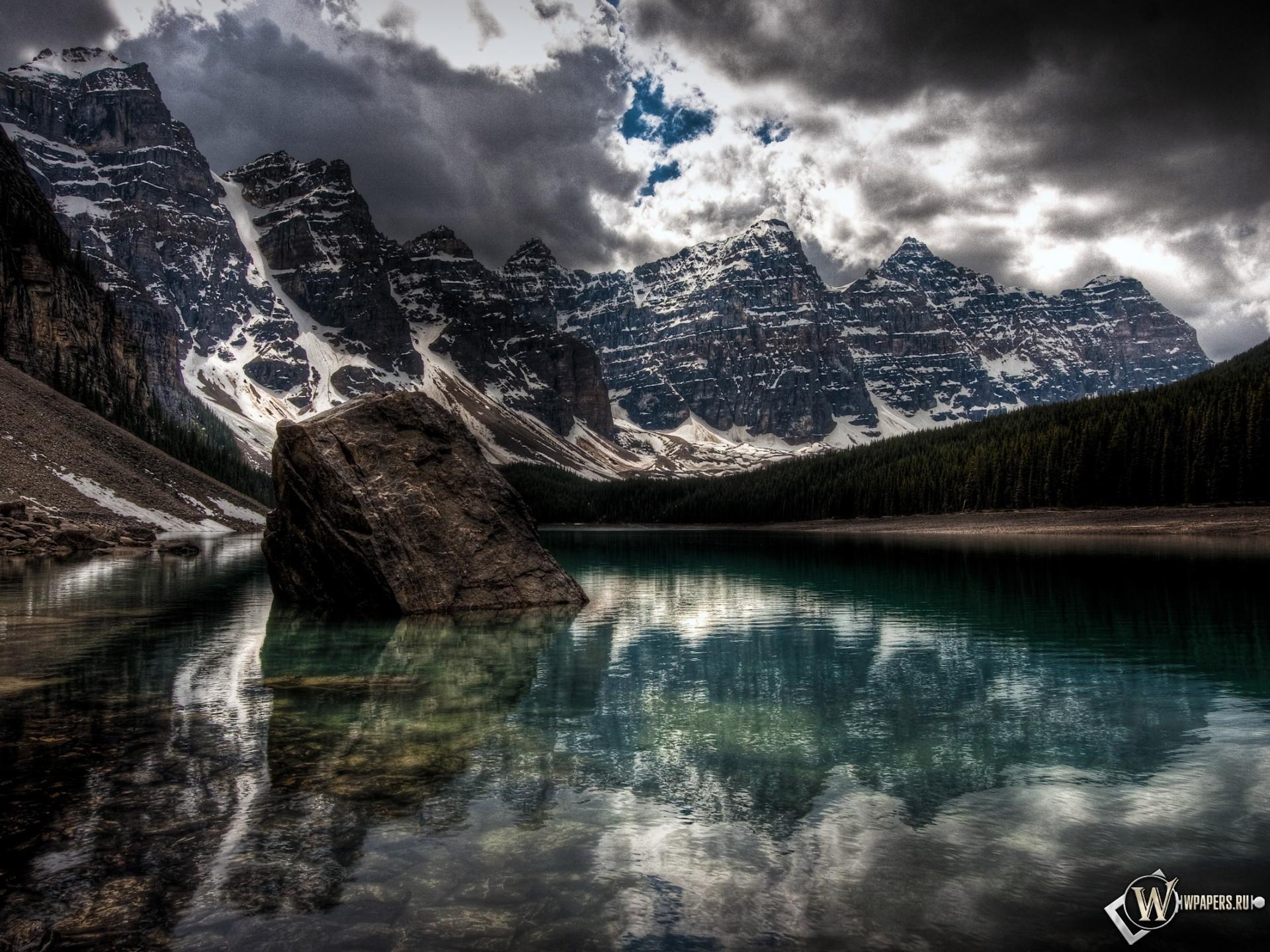 Лесное озеро 1920x1440