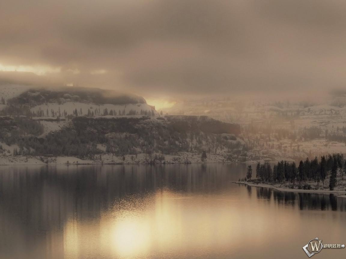 Сочинение описание зимнего пейзажа