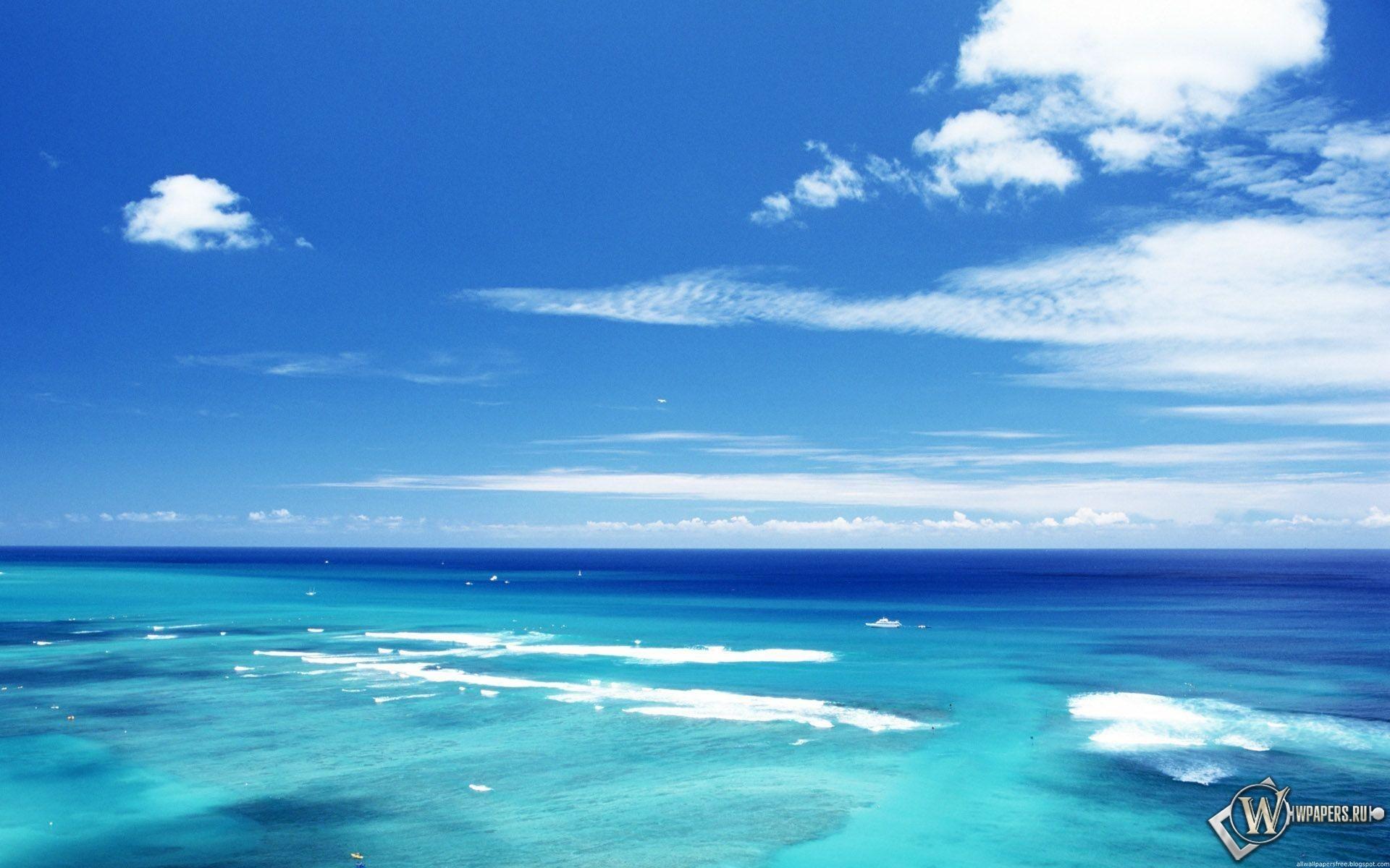 Море и небо 1920x1200