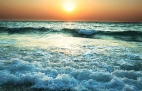 Обои рассвет на море: Море, Солнце, Рассвет, Вода и небо