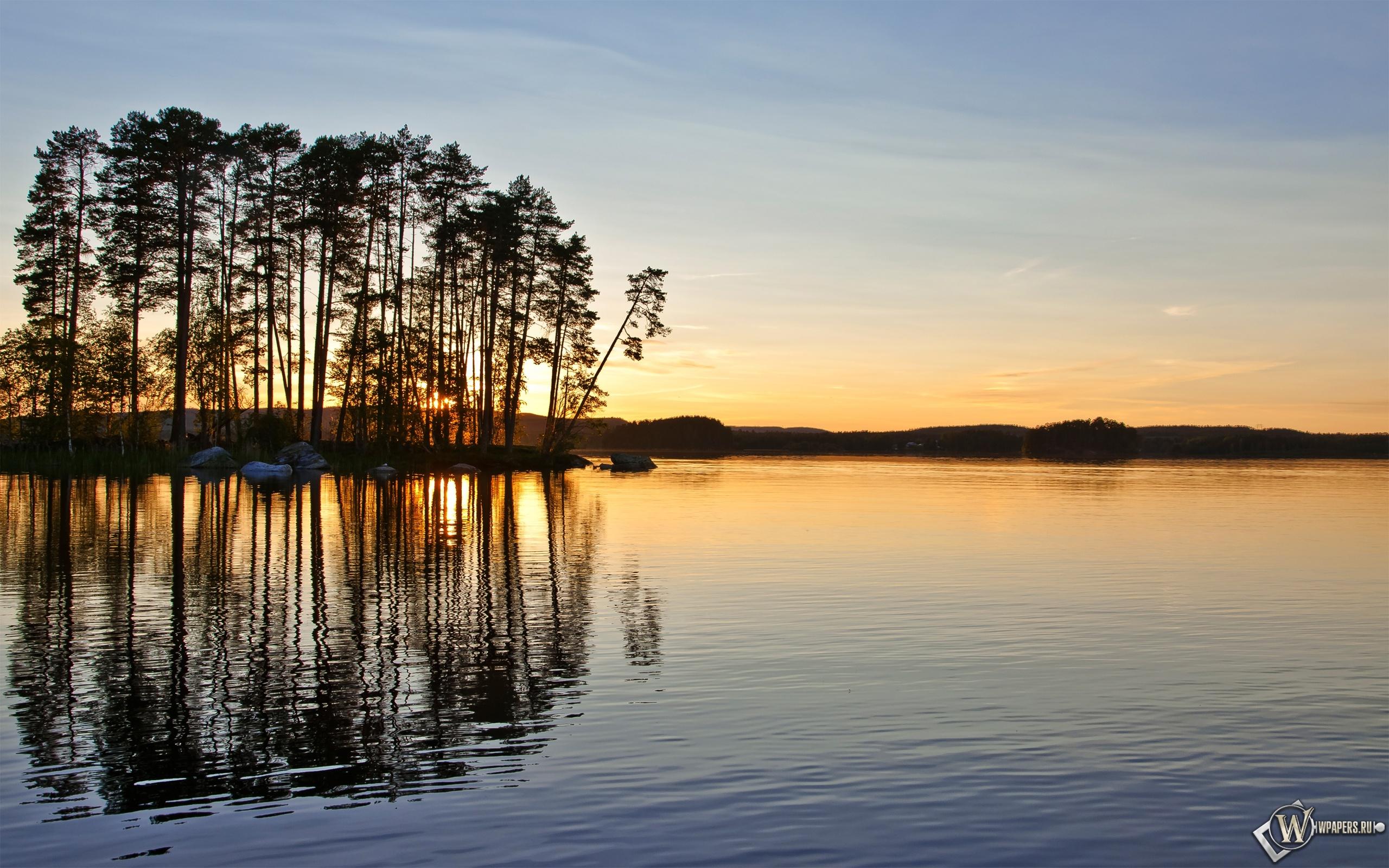Закат в Швеции 2560x1600