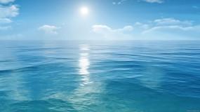 Обои За океаном: Океан, Небо, Горизонт, Вода и небо