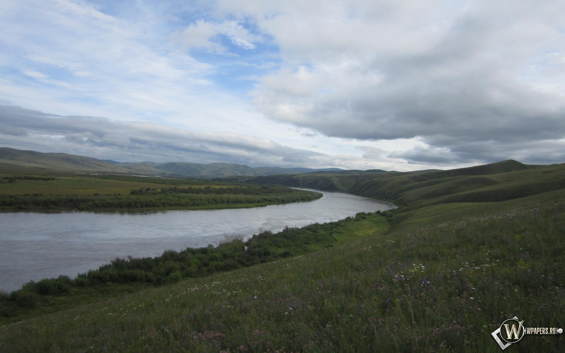 Обои забайкалье река онон река