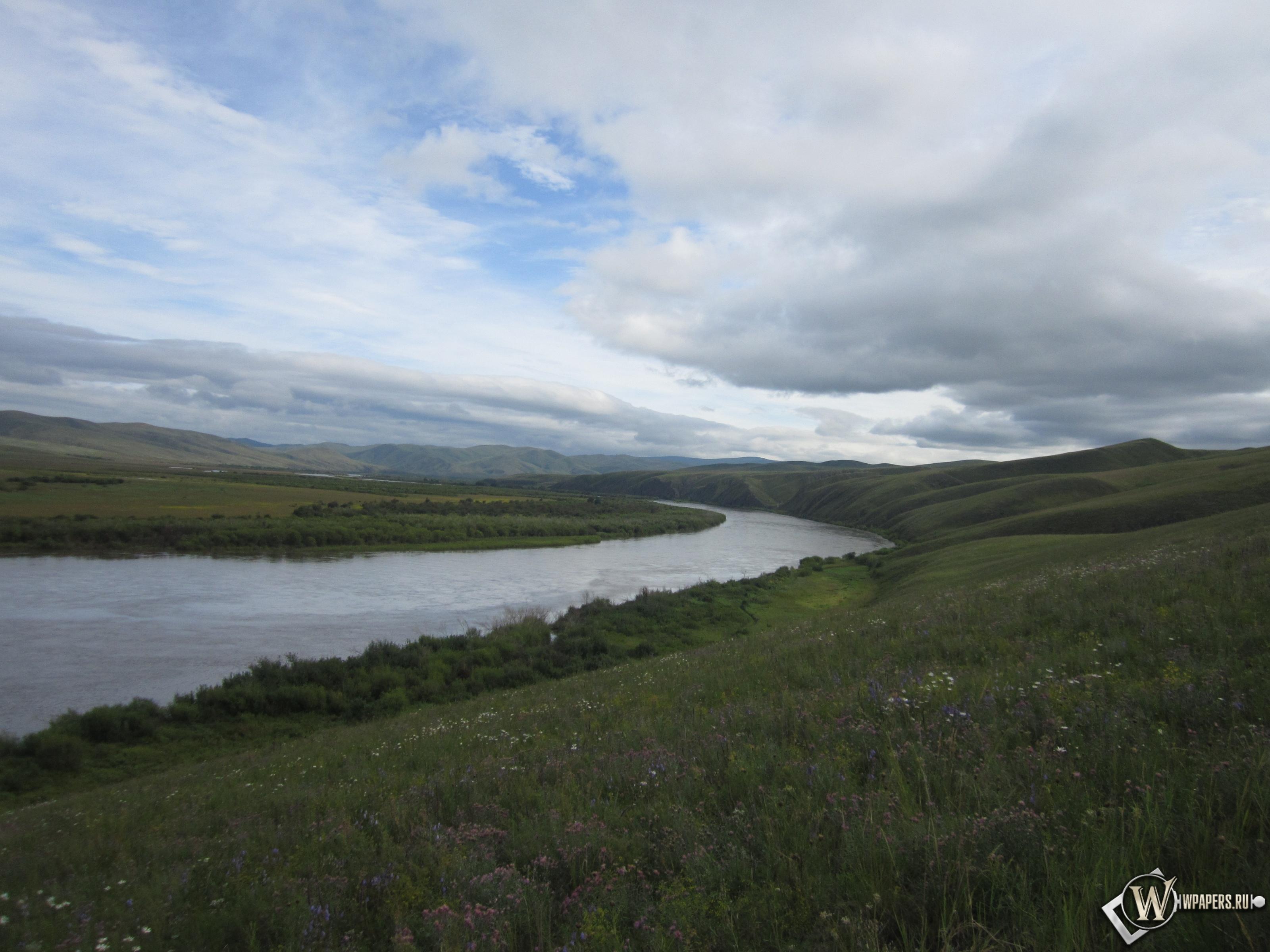 Забайкалье река Онон 3200x2400