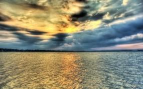 Обои Морской пейзаж: Море, Тучи, Небо, Прочие пейзажи