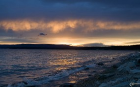 Обои Берег моря: Море, Камни, Берег, Вода и небо