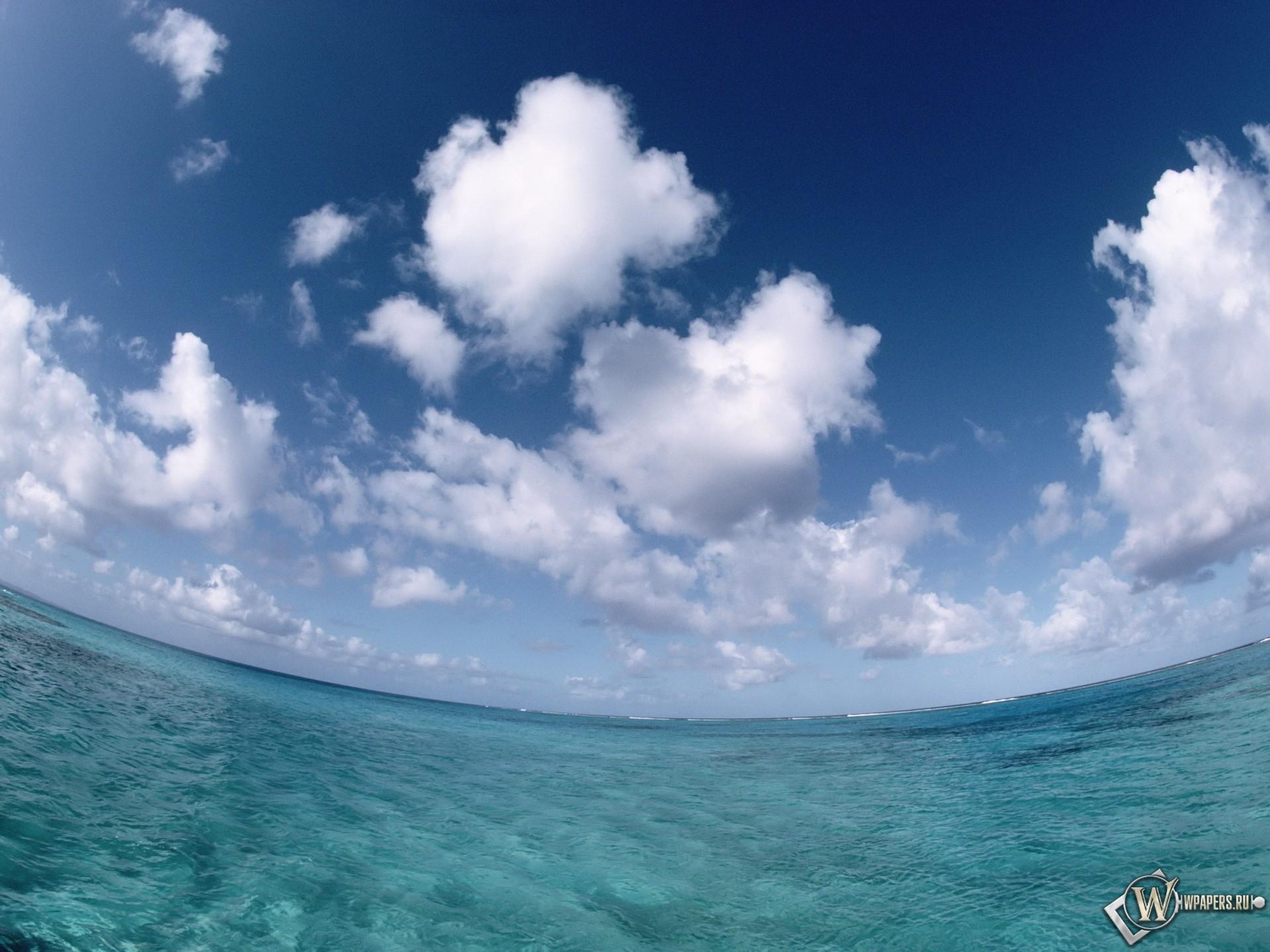 Море небо облака облака море небо