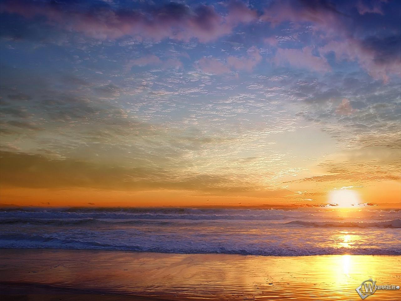 Морской пейзаж 1280x960