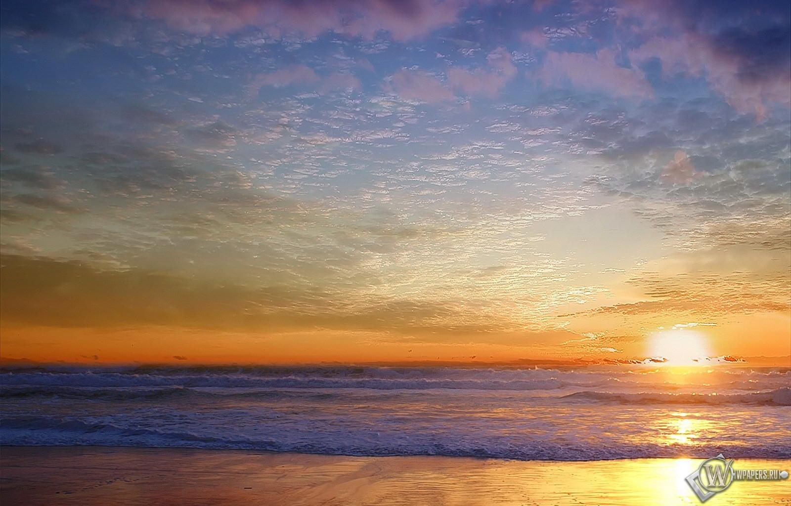 Морской пейзаж 1600x1024