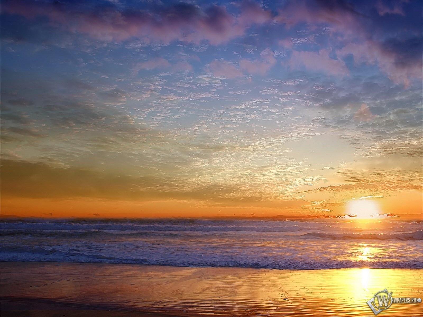 Морской пейзаж 1600x1200