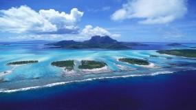 Обои Острова: Вода, Природа, Море, Океан, Остров, Relax, Воздух, Острова, Вода и небо