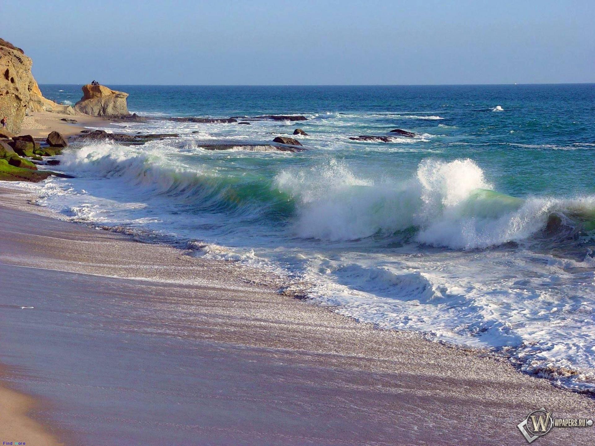 Морская волна 1920x1440