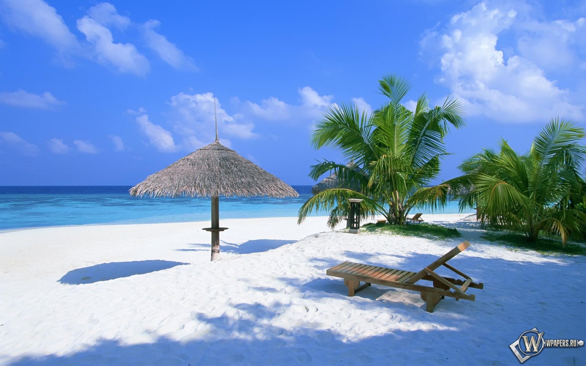 скачать бесплатно обои на рабочий стол 1600х900 экзотический рай #0