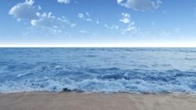 Обои Спокойное море: Вода, Море, Небо, Вода и небо