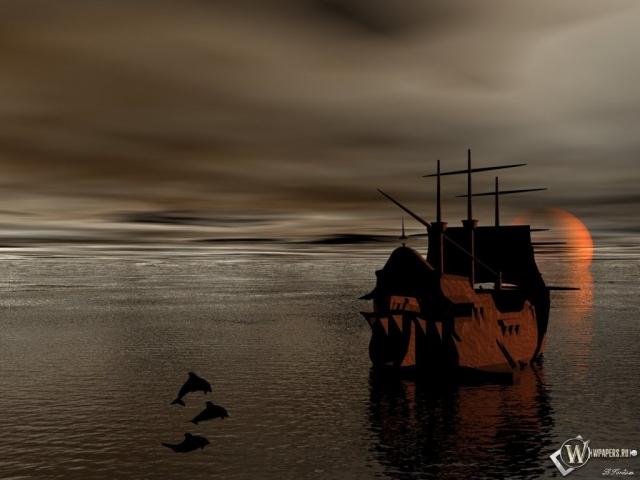 3D Корабль