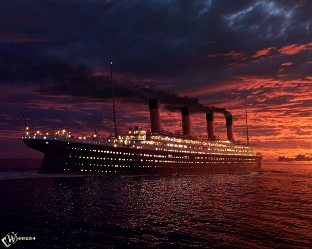 Огни Титаника