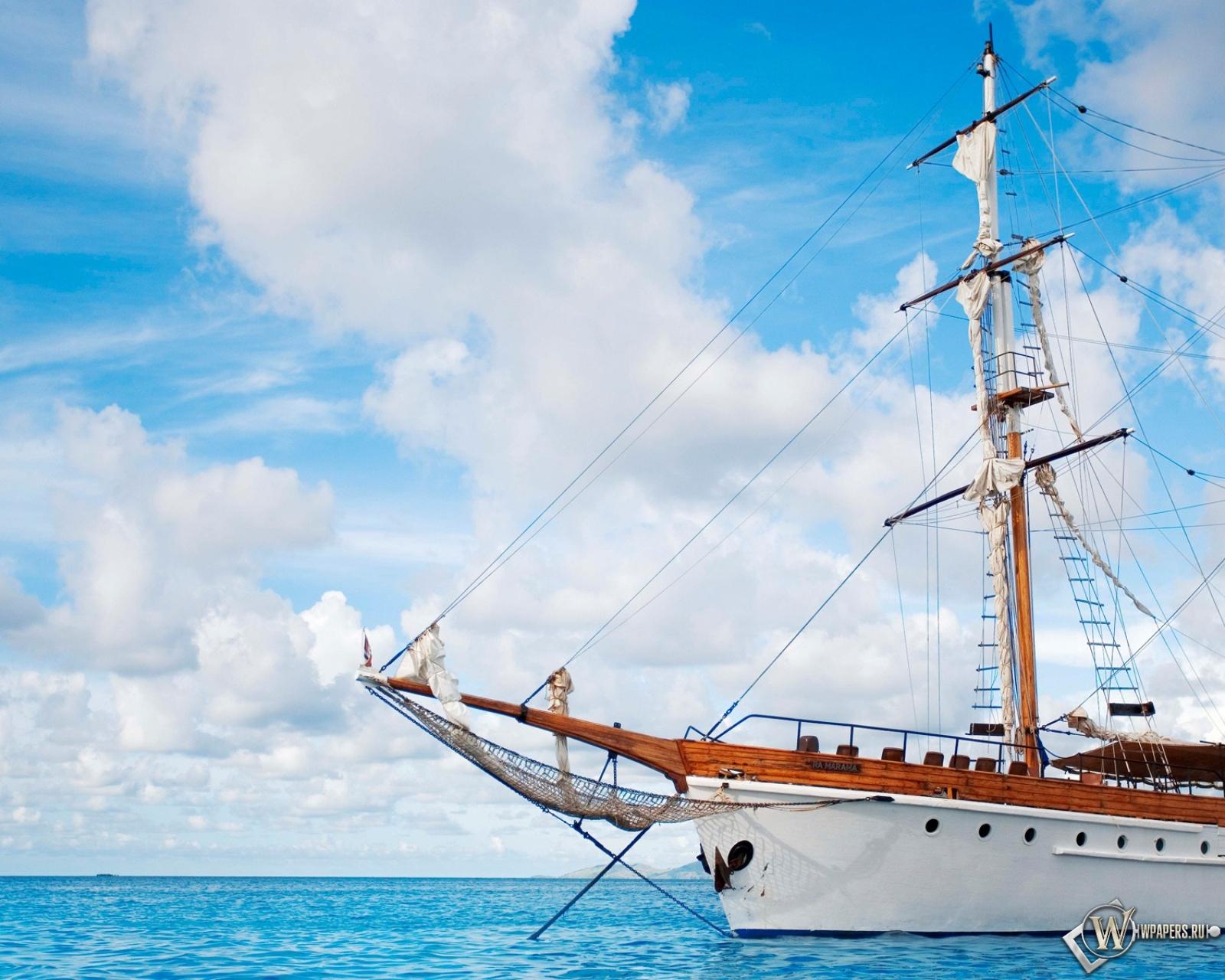 Корабль парусник картинки