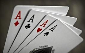 Обои 4 туза: Игра, Карты, туз, масть, 3D Графика