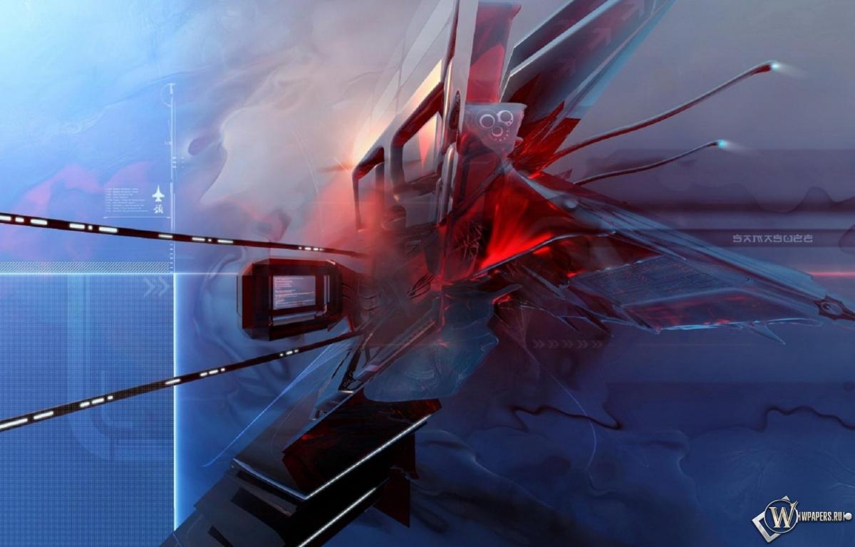 Истребитель будущего 1200x768