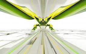 Обои Абстракция: Абстракция, Линии, Зелёный, Блоки, Абстракции