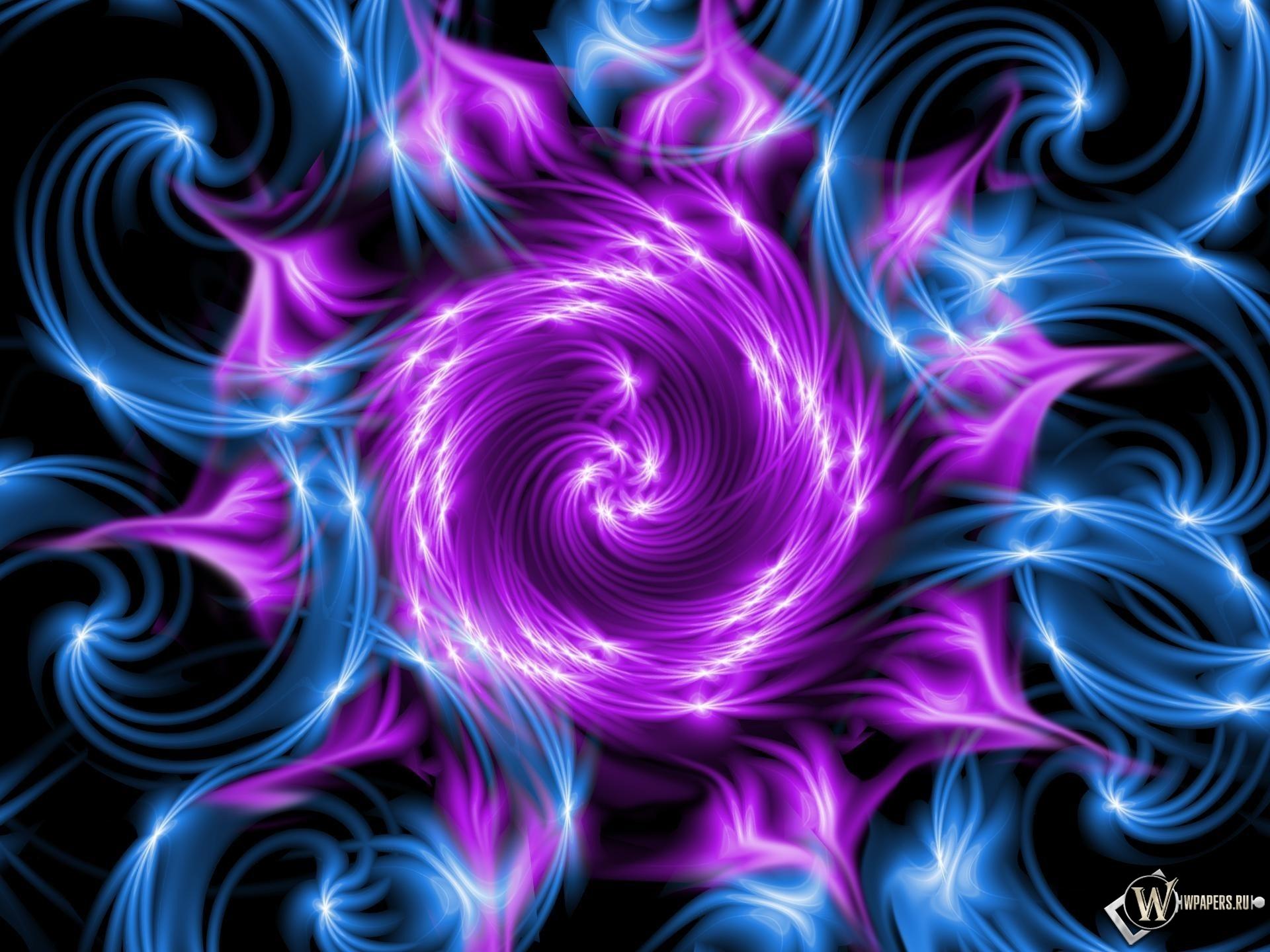 Фиолетовый вихрь 1920x1440