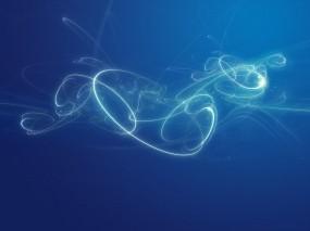 Обои Голубая абстракция: Вода, Фантазия, Абстракции