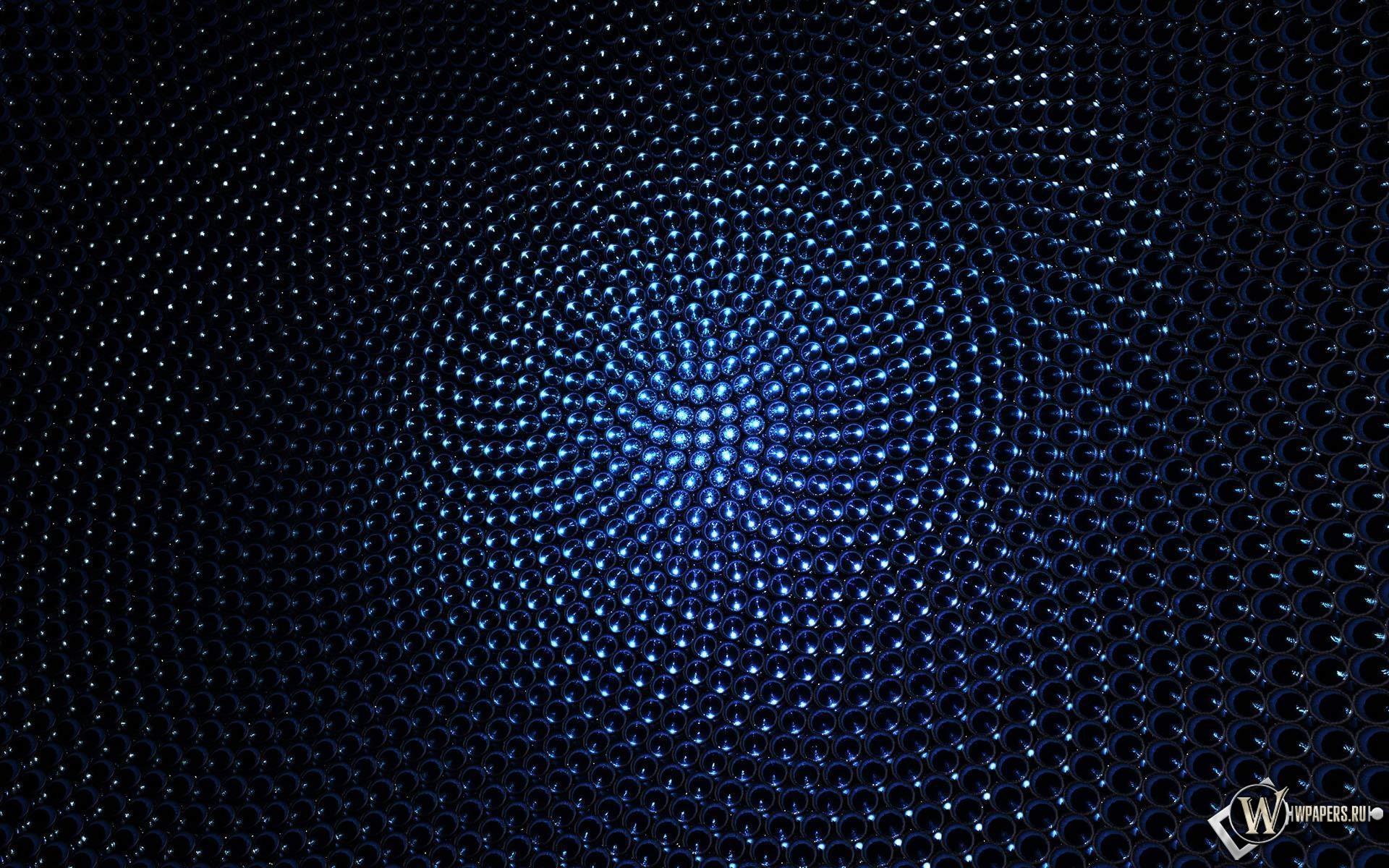 Синие шарики 1920x1200