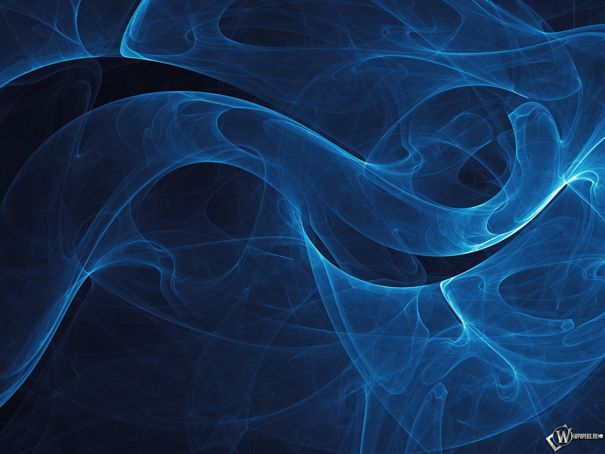 Картинки абстракции синие